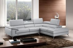 Tips That Help You Get The Best Leather Sofa Deal. Leather sofas and leather couch sets are available in a diversity of colors and styles. A leather couch is the ideal way to improve a space's design and th Sectional, Sofa Furniture, All Modern, Furniture Of America, Leather Reclining Sectional, Sofa, Furniture, Genuine Leather Sofa, Leather Sectional