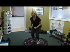 ▶ Rebounder HIIT Workout - YouTube