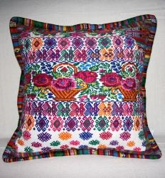 Guatamalan Hupil Pillows