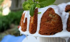 Two Kentucky Derby Day Desserts | alexandras kitchen  Mint Julep Cake:A bourbon-butter sauce moistens the vanilla-buttermilk cake when it first emerges from the oven; and a crème de menthe icing coats the exterior once cooled  And Bourbon Spiked Truffles
