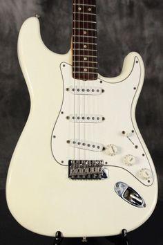 all original 1967 Fender Stratocaster ORIGINAL Custom Color OLYMPIC WHITE!!!  #Fender
