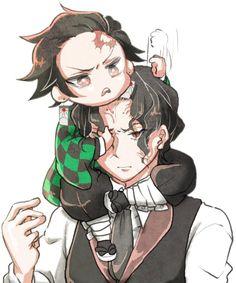 My little slayer [Muzan x Tanjiro] - here sum dope pics mah duds Manga Anime, Anime Demon, Otaku, Anime Love, Anime Guys, Hee Man, Chibi, Slayer Meme, Image Manga