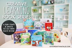 Creative Learning Book Series: SNEAK PEEK! –Favorite Usborne Books paired with fun crafts and snacks! At Home With Natalie