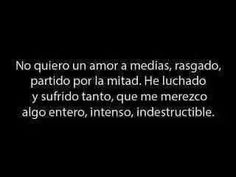 Amor completo #merecimiento
