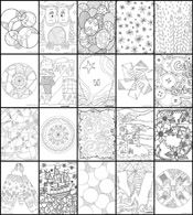 Doodle Coloring Pages lots of fun free coloring pages and other games too