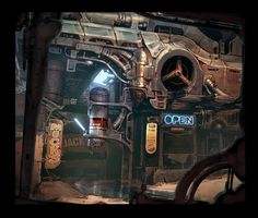 superactionfunboy: RAGE Environment Concept. Mr. Kenneth Scott is now on tumblr, head on over :)