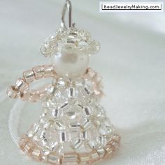 Beaded Angel - Bead Jewelry Making - Christmas Special