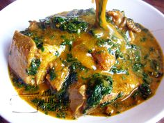Ogbono Soup, also known as Draw Soup, is a Nigerian soup recipe prepared with Ogbono Seeds. Learn how to cook the perfect Ogbono Soup right here. Nigerian Soup Recipe, All Nigerian Recipes, Kenyan Recipes, Nigeria Food, Ghana Food, Cameroon Food, Soup Recipes, Cooking Recipes, Healthy Recipes