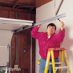 <p>garage door falling apart? follow along as our expert shows how to safely install a new garage