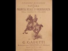 Giuseppe Gabetti FANFARA E MARCIA REALE D'ORDINANZA