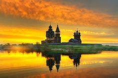Остров Кижи. Карелия...    Автор фото: Гордеев Эдуард