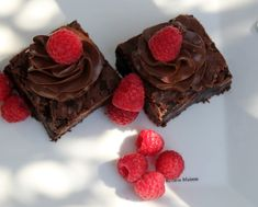 Best brownies i've ever made and tasted! Best Brownies, Fudge Brownies, Chocolate Heaven, Different Recipes, Blondies, Cupcake, Baking, Create, Desserts