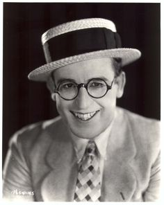 Harold Lloyd stared in comedies