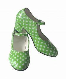 467d29543e7 Spaanse schoenen groen wit NIEUW | SPAANSE SCHOENEN | SPAANSE JURK NL -  officiele site - Spaanse webshop