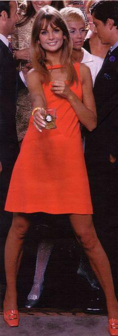 English model, Jean Shrimpton