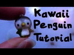 Kawaii Penguin Tutorial: Polymer Clay Charm :)