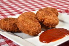 Csirkefalatok - Piroskockás Cookies, Food, Crack Crackers, Biscuits, Essen, Meals, Cookie Recipes, Yemek, Cookie
