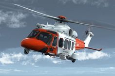 The S-92 Search and Rescue (SAR) helicopter of the Irish Coast Guard.