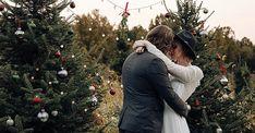 Christmas Tree Farm, Christmas Wedding, Boho Wedding, Wedding Inspiration, Winter Jackets, Style, Fashion, Winter Coats, Swag