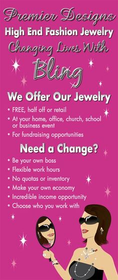 """Contact me about hosting a Premier Designs event and earning FREE JEWELRY or become a Premier Diva like me and give other women FREE JEWELRY while earning extra income and supporting your own """"jewelry habit""""! Contact me, Cammie Hackney for more info  2hackneys@gmail.com"""