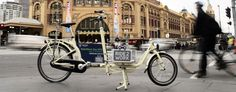 Ride2Work 2012 in front of Flinders St Station