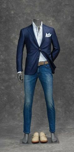 search, and you will find; knock and the door w… – Mens Fashion – Moda Terno Casual, Traje Casual, Casual Suit, Sharp Dressed Man, Well Dressed Men, Mens Fashion Suits, Mens Suits, Cool Outfits, Casual Outfits