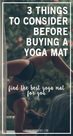 3 things to consider before buying a yoga mat | Yoga, Yoga for beginners, Yoga lifestyle, Yoga for flexibility, yoga handstand, yoga for weightloss, yoga workout, yoga poses, yoga inspiration, yoga mat, best yoga mat, yoga mat design, lululemon yoga mat, yoga poses for beginners YOGA POSES FOR BEGINNERS | IN.PINTEREST.COM HEALTH EDUCRATSWEB