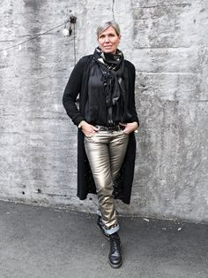 Style Inspo by Bohem Leather Pants, November, Jackets, Fashion, Leather Jogger Pants, November Born, Down Jackets, Moda, La Mode