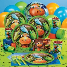 Dino Train Full Party Supplies