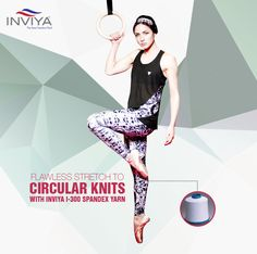 I-300 #spandex yarn by #Inviya makes sure that #textile production processes refrain from robbing the #stretch properties of clothes!