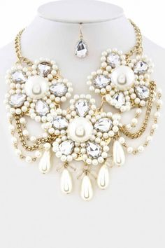 collier lariat collier plastron ras du cou collier par Paulafashion, $28.00