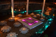 Montaje de boda realizada en Xcaret / Wedding set up in Xcaret #Wedding #Boda #Xcaret #RivieraMaya