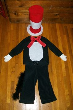 Diy cat in the hat costume potpourrimommy pinterest costumes cat in the hat costume solutioingenieria Gallery