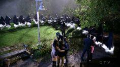 "Killian Jones, Emma Swan, David, MaryMargaret, Regina, Henry and Robin - 5 * 11 ""Swan Song"" #CaptainSwan"