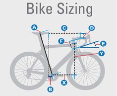 bike frame sizing road bike fitting