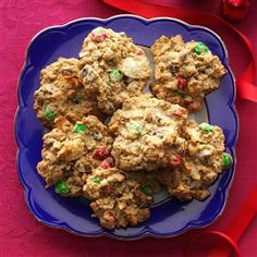 Snow Day Cookies Recipe- Recipes  Clear your pantry to make these chocolate chip cookies loaded with goodies. We add oats, M&M's, pretzels and even potato chips. —Brittney Musgrove, Dallas, GA
