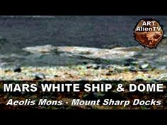Video de Puerto, Barco... en Marte.MARS WHITE SHIP & DOME at Aeolis Mons - Mt Sharp Docks. ArtAlienTV - 1080p - YouTube