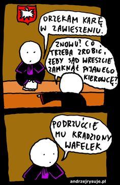 sad pijani kierowcy polskie prawo Best Memes, Funny Pictures, Funny Pics, Peanuts Comics, Sad, Jokes, Humor, Fictional Characters, Fanny Pics