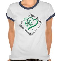 Faith Hope Love Butterfly - Liver Disease Tees by www.fightlikeagirlgiftshop.com  #LiverCancer #LiverCancerawareness #LiverCancershirts #cancerawareness