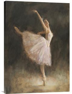 The Passion for Dance. Buy positive energy inspirational vertical wall art painting The Passion for Dance by Richard Judson Zolan, which is available for sale in our portrait paintings collection. This positive energy ready-to-hang stretched giclee is printed on high quality artist grade canvas with a gallery wrap finish- with the image mirrored onto the sides. Enjoy free shipping within the continental U.S. We will ship this stretched museum quality Feng Shui …