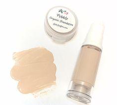 Liquid ORGANIC Foundation  Natural Makeup Vegan by LittleStuff4u