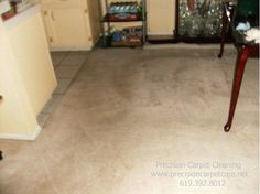 Residue free carpet cleaning in San Diego