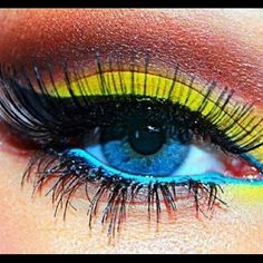 Summer eye art