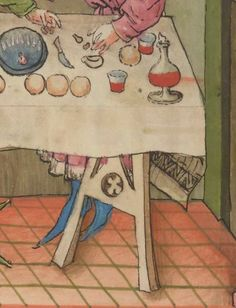 IBN BUTLÂN , Tacuinum sanitatis 15. Jhd Latin 9333 Folio 51r