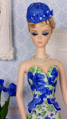 Belle Blue for Silkstone Barbies