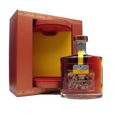 Cigars and good cognac go hand-in-hand. Cohiba Cognac by Martell is made from top of the line eaux-de-vie (a.k.a fruit brandy) that's been aged between 40 and 50 years in oak casks. The bootle also comes with a special wooden box that will look good alongside your humidor. Price : $622