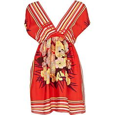 Red print Chelsea Girl dress