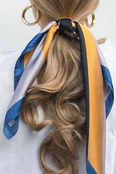 27 Scarf Hairstyles – Pretty Ways To Style Your Hair With A Scarf - Hair and Beauty eye makeup Ideas To Try - Nail Art Design Ideas Scarf Hairstyles, Pretty Hairstyles, Braided Hairstyles, Holiday Hairstyles, Hairstyle Ideas, Braided Locs, Famous Hairstyles, Evening Hairstyles, Fashion Hairstyles