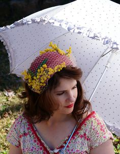 Tanith Rowan: Another 1950s Photoshoot: My Creations (Part Two): Flowers and Leaves!