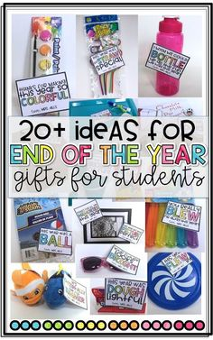 20 {End of the Year} Gift Ideas for Students